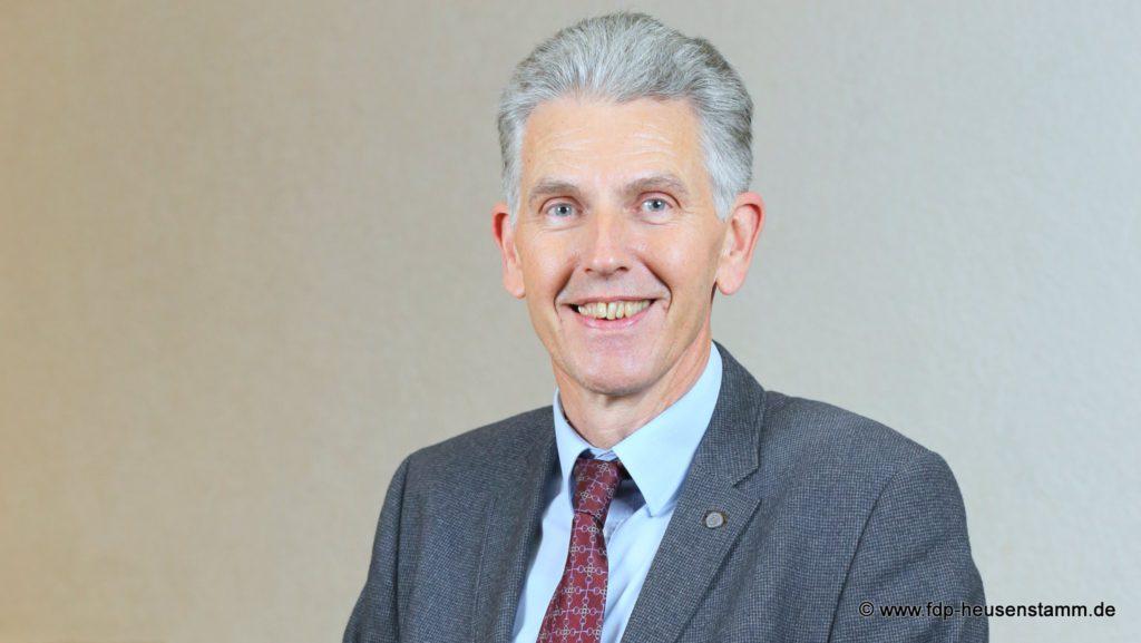 Uwe Klein, Orts- und Fraktionsvorsitzender der FDP Heusenstamm