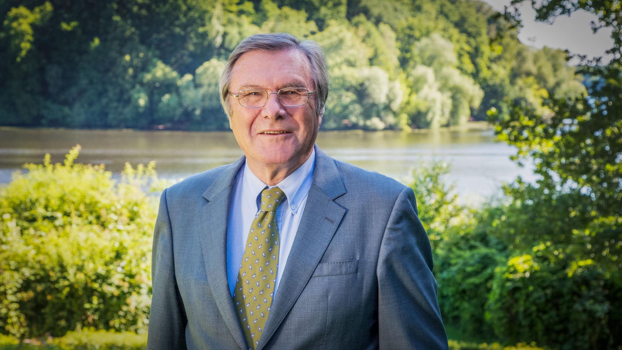 Wolfgang Gerhardt, Vorstandsvorsitzender der liberalen Friedrich-Naumann-Stiftung für die Freiheit.
