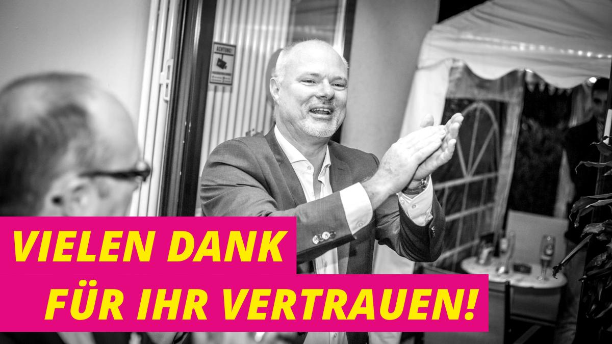 Richard Krüger, Direktkandidat der FDP im Wahlkreis 185