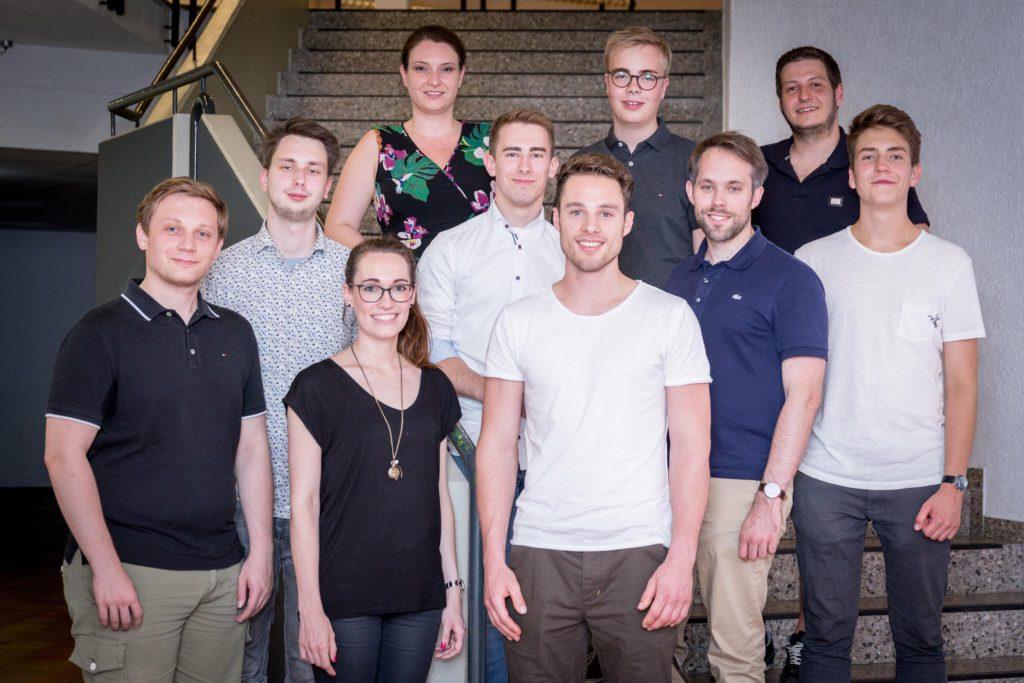 Der neue Vorstand des Regionalverbands Offenbach der Jungen Liberalen