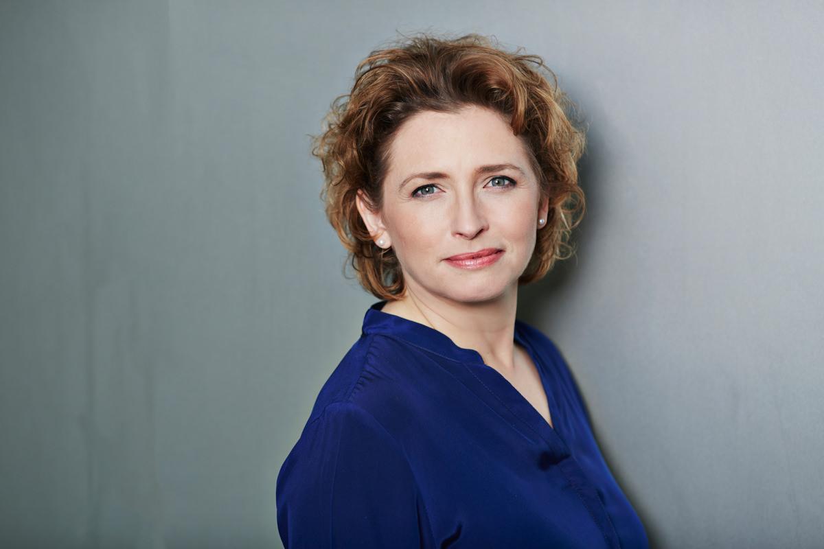 Nicola Beer, Generlsekretaerin der FDP (Foto: Laurence Chaperon).