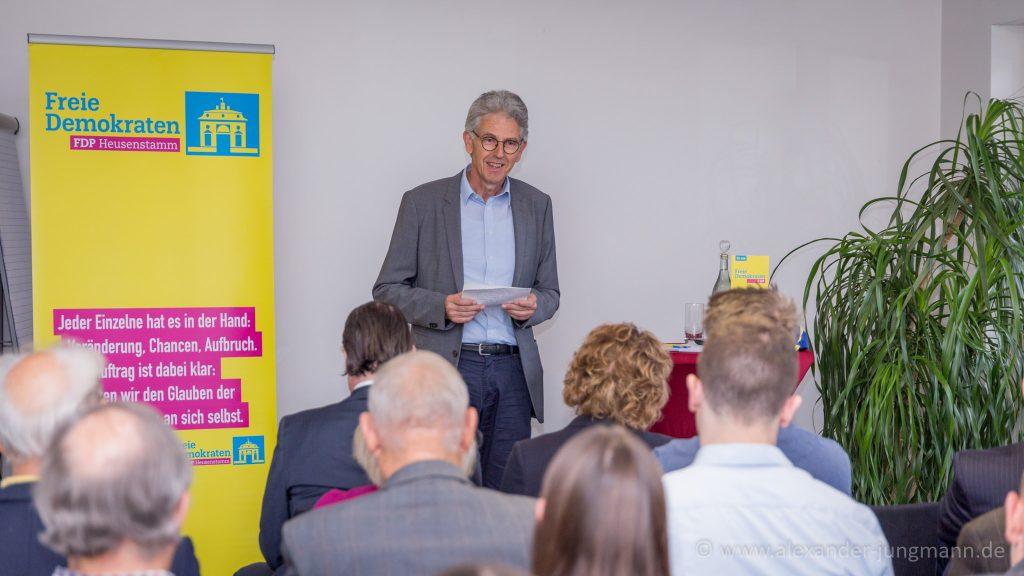 Uwe Klein, Ortsvorsitzender der FDP-Heusenstamm.
